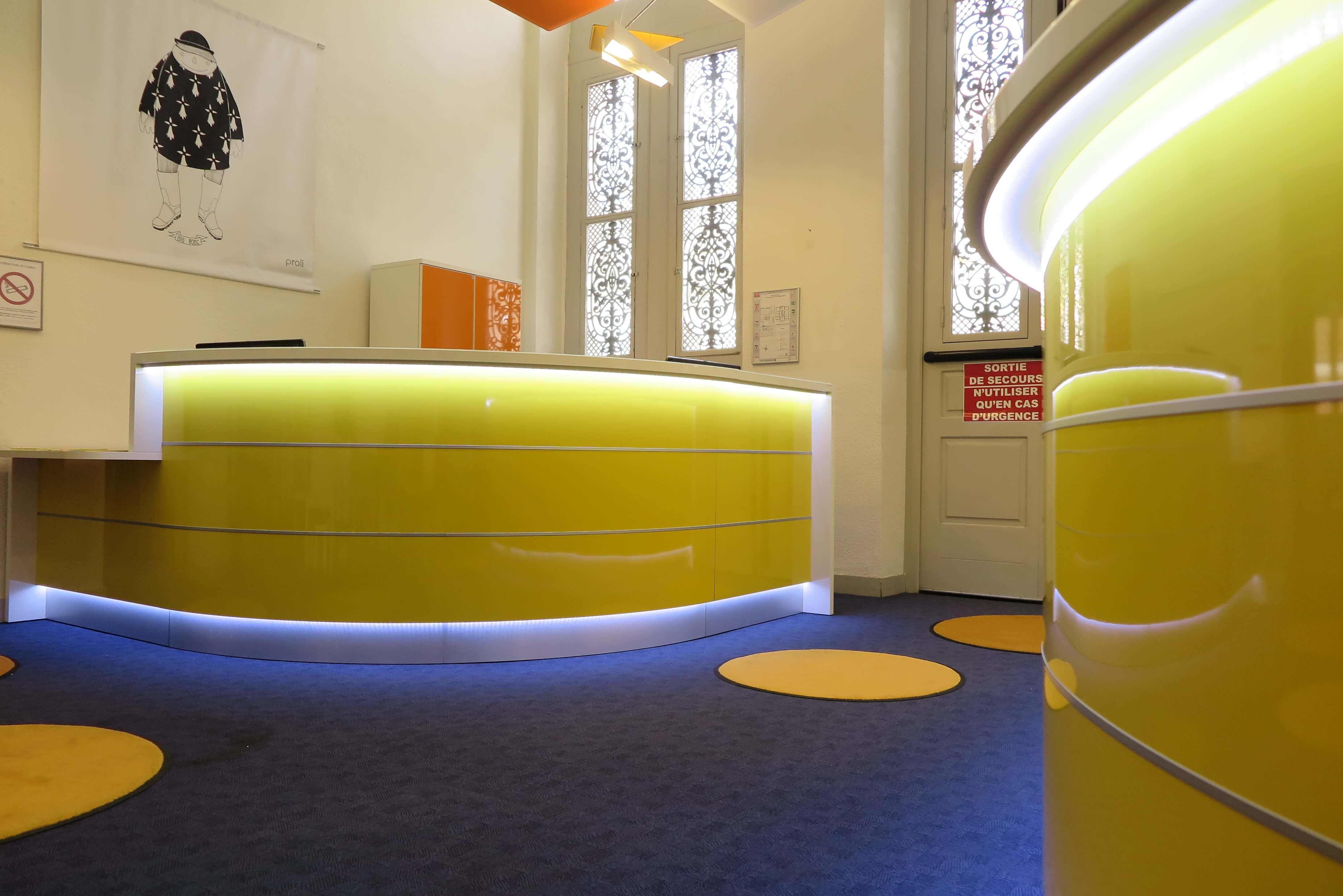 Mairie de Hyères - Nos Réalisations - Imagine - Aménagement de bureaux - Hyères